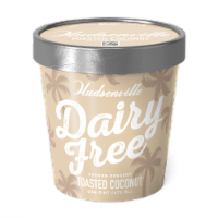 Hudsonville, Dairy Free Toasted Coconut, 16 oz. Pint (8 Count) - 8 Count