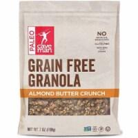 Caveman Foods Grain Free Granola Almond Butter Crunch, 7oz (Pack of 8) - 8