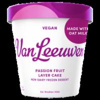 Van Leeuwen Oat Milk Passion Fruit Layer Cake Ice Cream (8 Count)