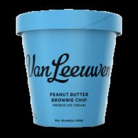 Van Leeuwen Peanut Butter Brownie Chip Ice Cream (8 Count)