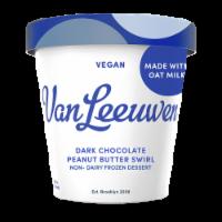 Van Leeuwen Oat Milk Dark Chocolate Peanut Butter Swirl Ice Cream (8 Count)