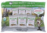 The Daily Crave Organic Veggie Straws MultiPack,6oz (Pack of 4)