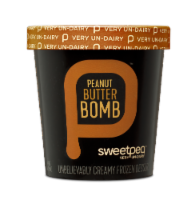 Sweetpea, Peanut Butter Bomb, Pint, (8 count) - 8 Count