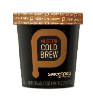 Sweetpea, Must Do Cold Brew, Pint Frozen Dessert, (8 count) - 8 Count
