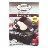 Namaste Foods Brownie Mix - Case of 6 - 30 oz - 30 OZ