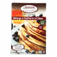 Namaste Foods Gluten Free Waffle and Pancake - Mix - Case of 6 - 21 oz. - Case of 6 - 21 OZ each