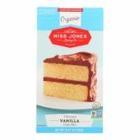 Miss Jones Baking Cake Mix - Vanilla - Case of 6 - 15.87 oz. - 15.87 OZ