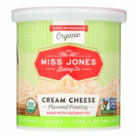 Miss Jones Baking Co Organic Cream Cheese - Case of 6 - 11.29 OZ - Case of 6 - 11.29 OZ each
