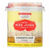Miss Jones Baking Co. Confetti Pop Frosting  - Case of 6 - 11.98 OZ - Case of 6 - 11.98 OZ each