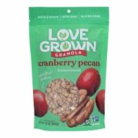 Love Grown Foods Oat Clusters - Sweet Cranberry Pecan - Case of 6 - 12 oz