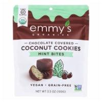 Emmy's Organics - Bites Chocolate Coverrd Mint - Case of 6 - 3.5 OZ - Case of 6 - 3.5 OZ each