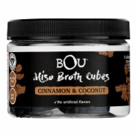 Bou - Miso Broth Cubes - Cinnamon and Coconut - Case of 6 - 2.53 oz. - Case of 6 - 2.53 OZ each