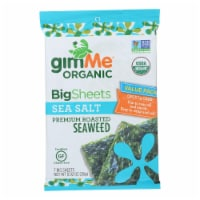 Gimme Organic Wrap N' Roll - Sea Salt - Case of 10 - 0.92 oz.