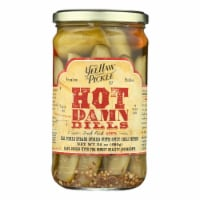 YeeHaw Pickle Co. Hot Damn Dills Spicy Pickle Spears - 24 oz
