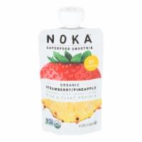 Noka - Smoothie Straw Pineap - Case of 6 - 4.22 OZ - Case of 6 - 4.22 OZ each