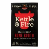 Kettle & Fire Beef Bone Broth  - Case of 6 - 16.9 OZ - Case of 6 - 16.9 OZ each