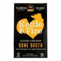 Kettle & Fire Chicken Bone Broth  - Case of 6 - 16.9 OZ - Case of 6 - 16.9 OZ each