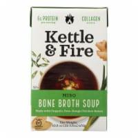 Kettle and Fire Soup - Miso Soup - Case of 6 - 16.9 oz. - Case of 6 - 16.9 OZ each
