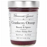Bonnie's Jams Cranberry Orange with Brandy & Spices