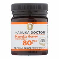 Manuka Doctor - Manuka Honey Multifloral Mgo80+ 250g - Case of 6-8.75 OZ - Case of 6 - 8.75 OZ each