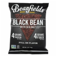 Beanfields - Bean and Rice Chips - Black Bean With Sea Salt - Case of 24 - 1.50 oz. - 1.50 OZ
