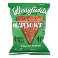 Beanfields - Bean and Rice Chips - Jalapeño Nacho - Case of 24 - 1.50 oz. - 1.50 OZ