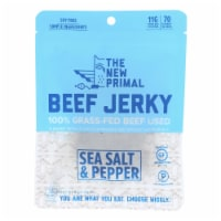 The New Primal Beef Jerky - Original - Gluten Free - 2 oz - case of 8 - 2 OZ