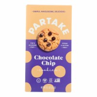 Partake Foods Sprouted Grain Chocolate Chip Mini Cookies - Case of 6 - 5.5 OZ - Case of 6 - 5.5 OZ each