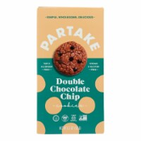 Partake Foods - Cookies Mini Double Chocolate Chips - Case of 6 - 5.5 OZ - Case of 6 - 5.5 OZ each