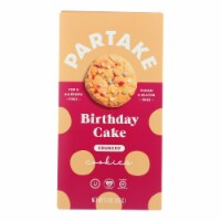 Partake Foods - Cookies Mini Birthdy Cake - Case of 6 - 5.5 OZ - 5.5 OZ