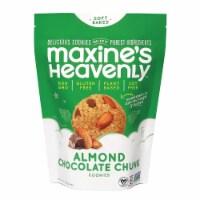 Maxines Heavenly Cookies Almond Chocolate Chunk Cookies Gluten Free, 7.oz (Pack of 8) - 8