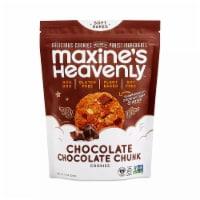 Maxines Heavenly Cookies Chocolate Chocolate Chunk Cookies Gluten Free, 1.8 oz (Pack of 10) - 10