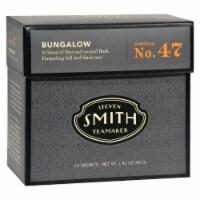 Smith Teamaker Black Tea - Bungalow - Case of 6 - 15 Bags - 15 BAG