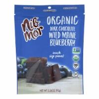 Nibmor - Dark Chocolate Bluberry 72% - Case of 6 - 3.26 OZ - Case of 6 - 3.26 OZ each