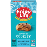 Enjoy Life - Cookie - Soft Baked - Chocolate Chip - Gluten Free - 6 oz - case of 6 - Case of 6 - 6 OZ each