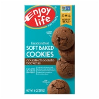 Enjoy Life Gluten Free Double Chocolate Brownie Soft Baked Cookies