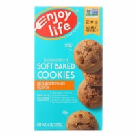 Enjoy Life - Cookie - Soft Baked - Gingerbread Spice - Gluten Free - 6 oz - case of 6 - Case of 6 - 6 OZ each