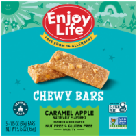 Enjoy Life - Snack Bar - Caramel Apple - Gluten Free - 5 oz - case of 6 - Case of 6 - 5.75 OZ each