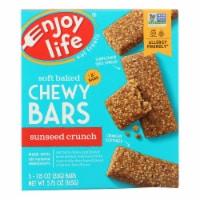 Enjoy Life - Snack Bar - SunSeed Crunch - Gluten Free - 5 oz - case of 6
