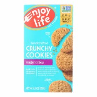 Enjoy Life - Cookie - Crunchy - Sugar Crisp - Crunchy - Gluten Free - 6.3 oz - case of 6