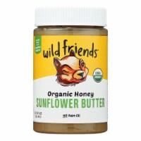 Wild Friends Foods Sunflower Butter - Organic Honey - Case of 6 - 16 oz. - Case of 6 - 16 OZ each