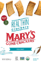 Mary's Gone Crackers Real Thin Crackers - Case of 6 - 5 OZ - Case of 6 - 5 OZ each