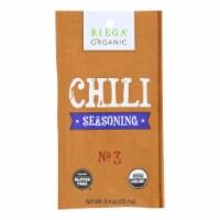 Riega Foods Organic Chili Seasoning  - Case of 8 - 0.9 oz. - 0.9 OZ