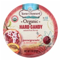 Torie And Howard Organic Hard Candy - Pomegranate And Nectarine - 2 Oz - Case Of 8 - 2 OZ