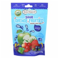Torie and Howard - Chewy Fruities Organic Candy Chews - Sour Assorted - Case of 6 - 4 oz. - Case of 6 - 4 OZ each