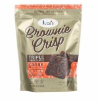 Lucys Triple Chocolate Brownie Crisp, 4.5 Oz (Pack of 8)