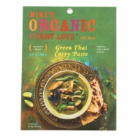 Mike's Organic Curry Love - Organic Curry Paste - Green Thai - Case of 6 - 2.8 oz. - 2.8 OZ