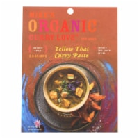 Mike's Organic Curry Love - Organic Curry Paste - Yellow Thai - Case of 6 - 2.8 oz. - 2.8 OZ