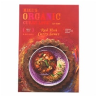 Mike's Organic Curry Love - Organic Curry Simmer Sauce - Red Thai - Case of 6 - 8.8 fl oz. - 8.8 FZ