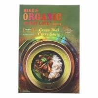 Mike's Organic Curry Love - Organic Curry Simmer Sauce - Green Thai - Case of 6 - 8.8 fl oz. - 8.8 FZ